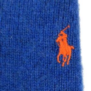 Ralph Lauren Lambswool V Neck Sweater Size Large L